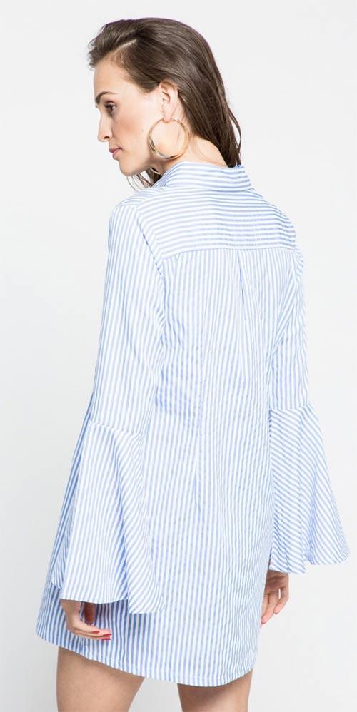 Długa koszula tunikowa