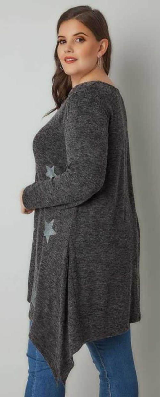 Zimowa tunika ciążowa